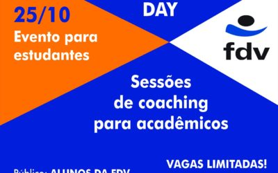 FDV e a International Coach Federation – ICF ES promovem Coaching Day para alunos no dia 25 de outubro